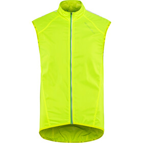 Endura Pakagilet II Windproof Vest Men hi-viz yellow